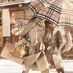 Зимний Лондон в видео Burberry With Love