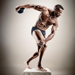 "Фотосерия ""Sculpture Athletes"""
