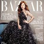 Джессика Честейн в UK Harper's Bazaar