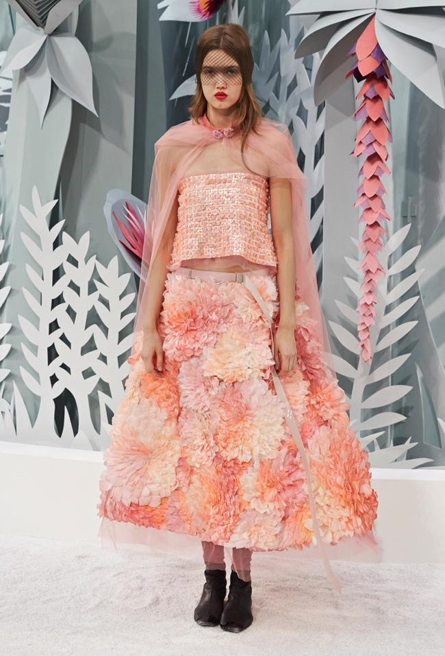 Paris fashion week chanel 2015 haute couture for Chanel haute couture 2015