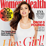 Ева Мендес в Women's Health Magazine